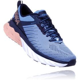 Hoka One One Arahi 3 Running Shoes Women Allure/Mood Indigo